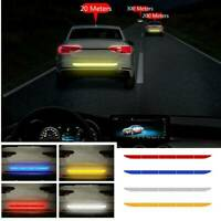 Car Auto Reflective Warn Strip Tape Bumper Safety Sticker Decal Truck Accessory