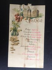 Ancien menu Illustré