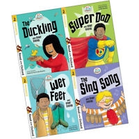 Read with Oxford Stage 2 Biff Chip and Kipper Collection 4 Books Set Sing Song
