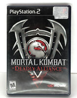 Mortal Kombat: Deadly Alliance (Sony PlayStation 2, PS2, 2002) Complete CIB