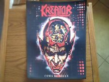 KREATOR,COMA OF SOULS SUBLIMATED LARGE BACK PATCH