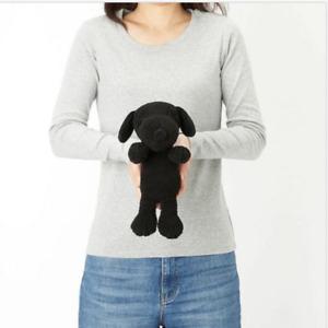 Brand New with Tag Kaws x Uniqlo Peanuts Snoopy Plush Black Small