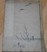 Japanese Vintage How To Write Kanji Character Book SanpouShokanShodo Calligraphy