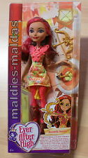 Ever After High Rosabella Beauty arco sparare dvh80 Nuovo/Scatola Originale Bambola