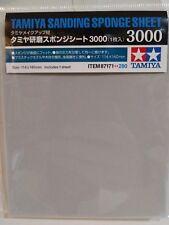 Tamiya 87171, Sanding sponge sheet, 3000 grit.