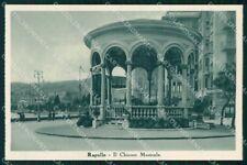 Genova Rapallo Chiosco Musicale cartolina RT0499