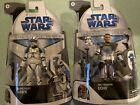 2 Star Wars Black Series Clone Wars Arc Trooper Echo & Hawk TARGET EXCLUSIVE