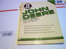 A B D G H M Mt John Deere Tractor I&T Shop Service Manual A B D G H M Mt