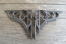Un Paio Di Ghisa Antico Stile Covent Garden STAFFE STAFFA 6 pollici AL41