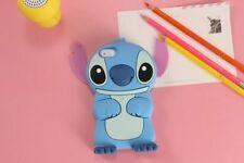 3D Stitch Silicone Phone Case For iPhone X 5 6 7 8 Plus Samsung HTC LG Huawei