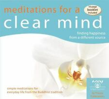 Meditations for a Clear Mind: Finding happiness from a different source (Living
