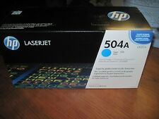 GENUINE HP 504A Cyan Toner Cartridge (HP CE251A) CP3525 CM3530 NEW SEALED!!!