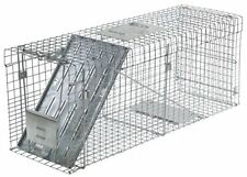 Havahart 1089 Collapsible One-Door Live Animal Cage Trap for Raccoon, Stray Cat,