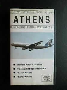 ATHENS OLD HELLINIKON AIRPORT,TRAFFIC, 1 HR VIDEO, OLYMPIC, MEA, AND MANY MORE