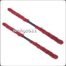 New 2pcs Paintball barrel Swab Squeegee Cleaner perfectly worked