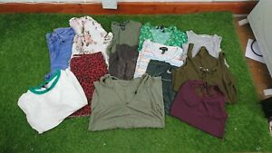 Women's Size 6 Mixed Clothes Bundle X13 Items High Street Brands LB16