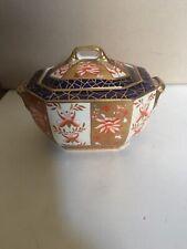 Sucrier Porcelaine Wedgwood Décor Imari Fin 19ème- Wedgwood Sugar Bowl Imari