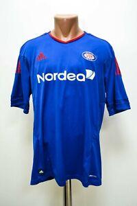 VALERENGA NORWAY 2011/2012 HOME FOOTBALL SHIRT JERSEY ADIDAS  SIZE L ADULT