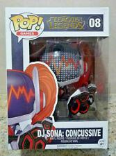Funko Pop! League of Legends DJ Sona Concussive + Protector