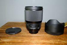 Mint Sigma Art 85mm f1.4 Nikon F Mount Open Box