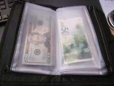 Receipt organizer multi pocket receipt wallet * NEW *