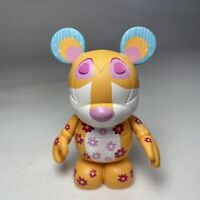 """Disney Vinylmation Series #4 It's A Small World Leopard Collectable 3"""" Figure VG"""