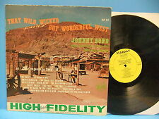Johnny Bond That Wild Wicked But Wonderful West 1961 Mono VG+ Record Starday 147