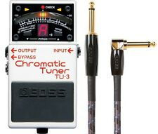 New Boss TU-3 Chromatic Guitar Pedal Tuner! FREE 10ft Boss Cable!