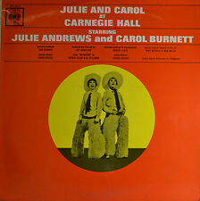"EAST - JULIE AND CARROL AT CARNEGIE HALL - IRWIN KOSTAL 12"" LP (Q964)"
