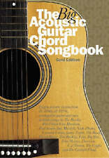 The Big Acoustic Guitar Chord Songbook (Gold Edition) by Music Sales Ltd (Paperb
