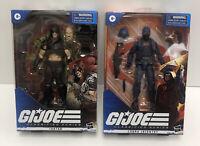 GI Joe Classified Series Cobra Infantry & Zartan Action Figures Hasbro-(In Hand)