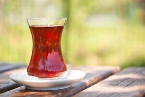 Pasabahce Ince Belli turkish tea Glass Cups. Set Of 6