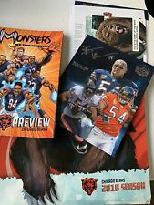 Chicago Bears 2018 Media Guide Season Ticket Holser Package