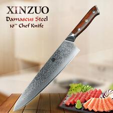 "XINZUO10"" chef knifeJapanDamascus steel kitchen knifeGyutou knife for restaurant"