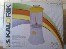 Kalorik Sunny Morning Yellow Personal Blender New In Box Never Opened.