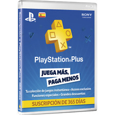 CODE Card Playstation Plus Psn 1 Year 12 Months Membership - Country of Spain