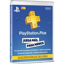 Card Playstation Plus Psn 1 Year 12 Months Membership - MEJOR PRECIO DE EBAY