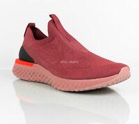 Nike Epic Phantom React Flyknit Cedar Red Running Shoes BV0417 600 Men's size 11