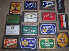 Vintage Beer Label Lot Of 15