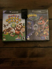 Super Monkey Ball 2 and Crash Bandicoot the Wrath of Cortex (Gamecube Bundle)