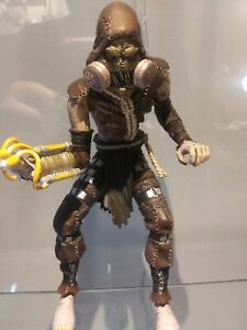 DC Comics Arkham Asylum Knight Scarecrow Action Figure loose
