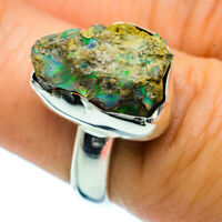 Ethiopian Opal 925 Sterling Silver Ring Size 7 Ana Co Jewelry R36801F