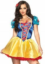 Women's Fairytale SNOW WHITE Costume RED PETTICOAT INCLUDED
