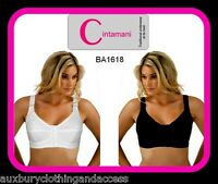 Cotton comfort ladies front fastening none wired bra  b,c,d,dd,e.up to size 44
