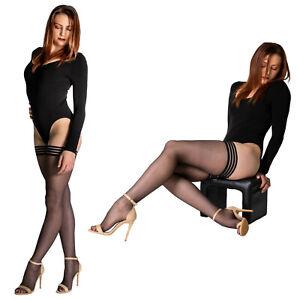 Cecilia de Rafael Sevilla BAS Thigh High Stocking | Glossy Finish | Stay Up Band