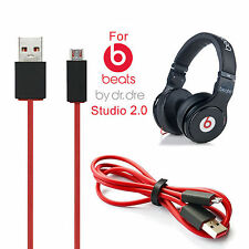 Micro USB Charging Charger Cable Cord for Beats By Dr Dre Studio Wireless / Pill