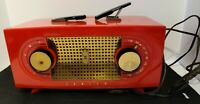 Zenith Tube Radio Radios RED PLASTIC PARTS Electric Sound