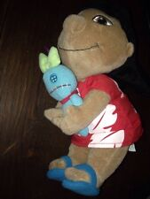 """Rare Lilo & Stitch DISNEY STORE plush doll 10"""" LILO with SCRUMP"""