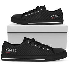 Black Audi Men's Low Top Shoes