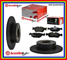 2xBrembo Max SPORT Bremsscheiben + Brembo Belägesatz HA HONDA CIVIC CR X II III
